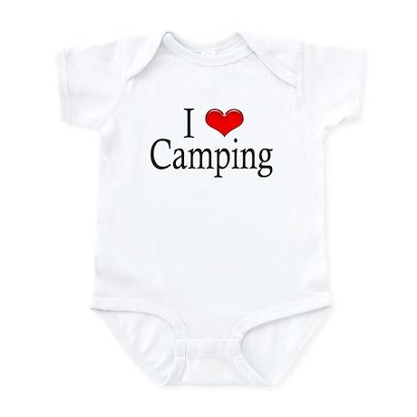 I Heart Camping Infant Creeper