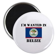 I'm Wanted In Belize Magnet