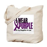 I Wear Purple For My Daughter-In-Law 10 Tote Bag