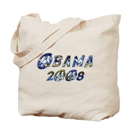 Obama 2008 Earth Tote Bag
