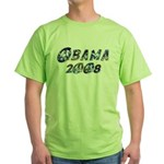 Obama 2008 Earth Green T-Shirt