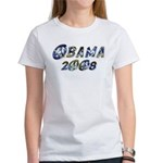 Obama 2008 Earth Women's T-Shirt
