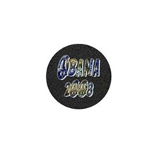 Obama 2008 Earth Mini Button (10 pack)