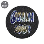 "Obama 2008 Earth 3.5"" Button (10 pack)"