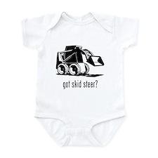 Skid Steer Infant Bodysuit