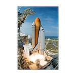 Shuttle Launch Mini Poster