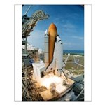 Small Shuttle Launch Poster