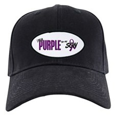 I Wear Purple For My Son 10 Baseball Hat