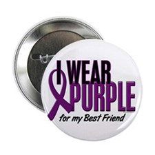 "I Wear Purple For My Best Friend 10 2.25"" Button"
