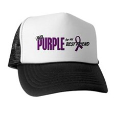 I Wear Purple For My Best Friend 10 Trucker Hat