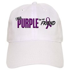 I Wear Purple For My Friend 10 Baseball Cap