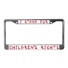 Children's Rights License Plate Frame