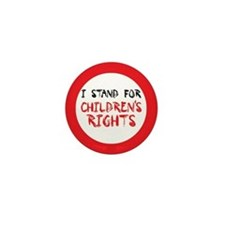 Children's Rights Mini Button