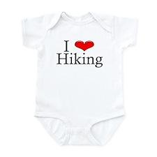 I Heart Hiking Infant Creeper