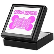 GERMAN SHEPHERD PRICELESS Keepsake Box