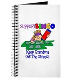 Support Bingo Funny Journal