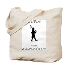 Cute Amazing grace Tote Bag