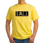 I Hate L.A. Yellow T-Shirt