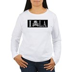 I Hate L.A. Women's Long Sleeve T-Shirt