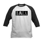 I Hate L.A. Kids Baseball Jersey