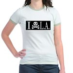 I Hate L.A. Jr. Ringer T-Shirt