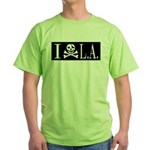 I Hate L.A. Green T-Shirt