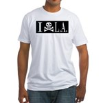I Hate L.A. Fitted T-Shirt