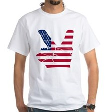 USA Peace Sign Shirt