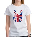 UK Victory Peace Sign Women's T-Shirt