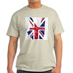 UK Victory Peace Sign Light T-Shirt