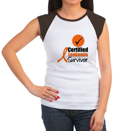 Certified Leukemia Survivor Women's Cap Sleeve T-S