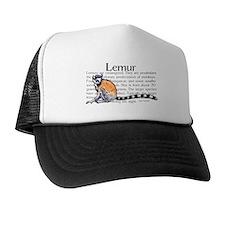Lemur Trucker Hat