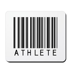 Athlete Barcode Mousepad