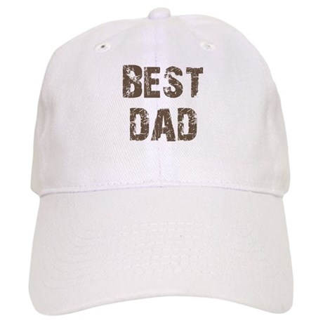 Best Dad Father's Day Brown Cap