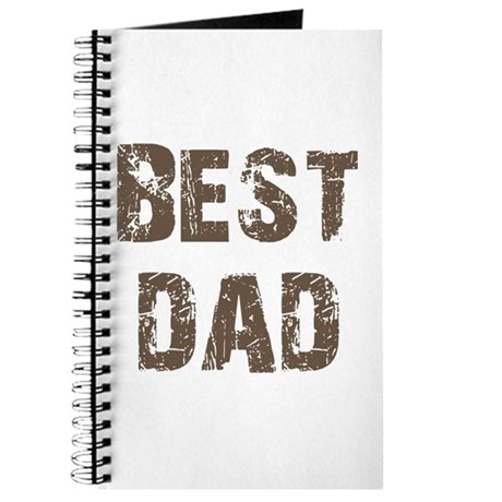 Best Dad Father's Day Brown Journal