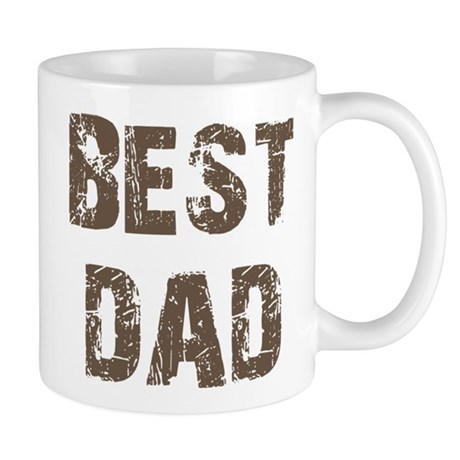 Best Dad Father's Day Brown Mug