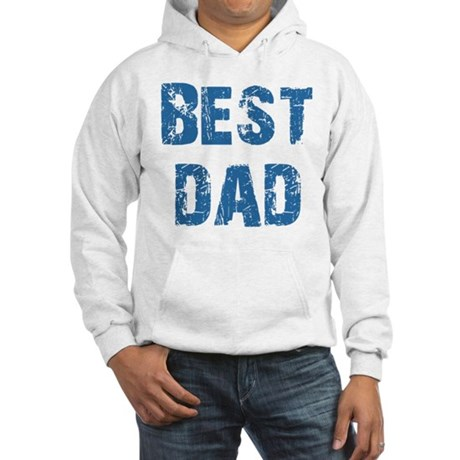 Father's Day Best Dad Hooded Sweatshirt