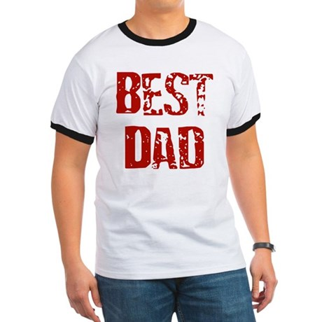 Father's Day Best Dad Ringer T