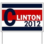 Hillary Clinton 2012 Yard Sign