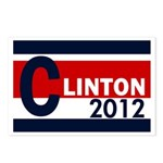 Clinton 2012 Postcards (Package of 8)