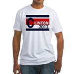 Clinton 2012 Fitted USA T-Shirt
