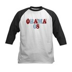 OBAMA 08 Kids Baseball Jersey