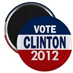 Vote Clinton 2012 Magnet