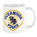Oceanside Police Mug