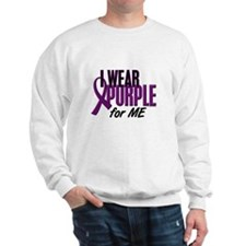 I Wear Purple For ME 10 Sweatshirt