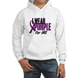 I Wear Purple For ME 10 Jumper Hoody