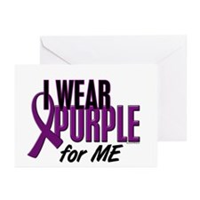 I Wear Purple For ME 10 Greeting Cards (Pk of 10)