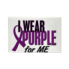 I Wear Purple For ME 10 Rectangle Magnet