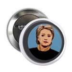 Vote Hillary Clinton Political Button
