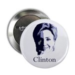 Hillary Clinton 2012 Portrait Button